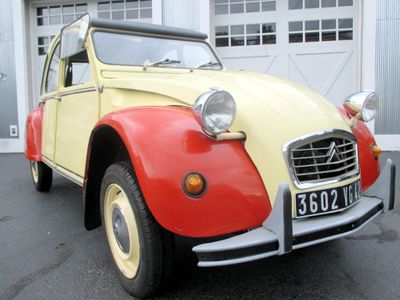 1980 CITROEN 2CV  - Click to see full-size photo viewer