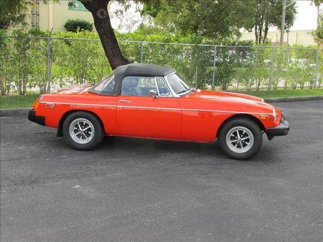 1980 MG MGB 2 Door