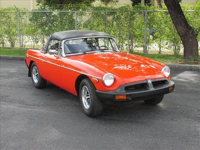 1980 MG MGB 2 Door - Click to see full-size photo viewer