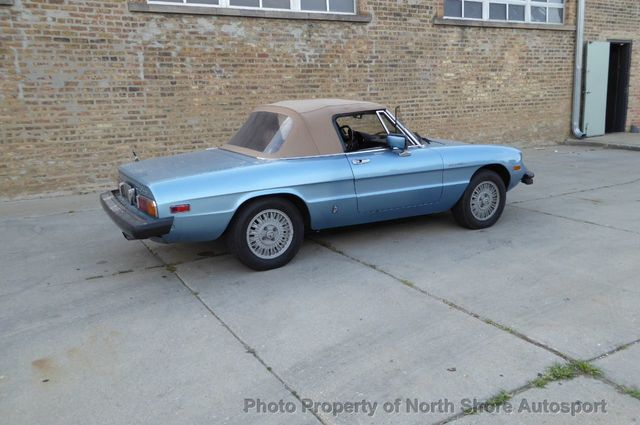 1981 Alfa Romeo Spider  - Click to see full-size photo viewer