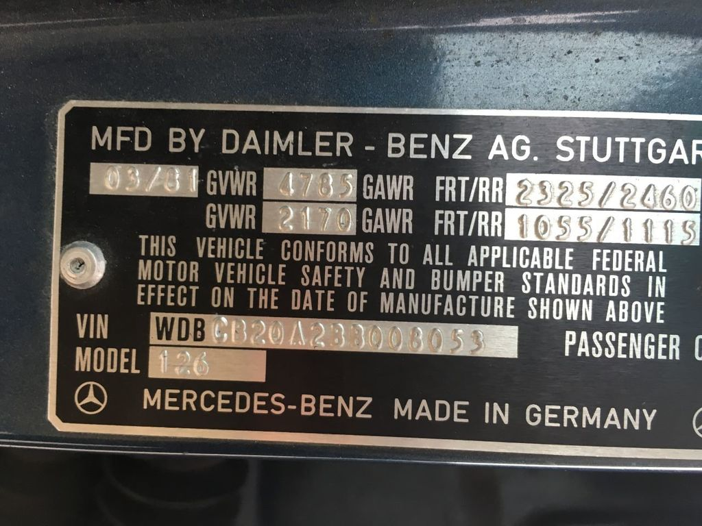 1981 Mercedes-Benz 300 SD - 16503127 - 16