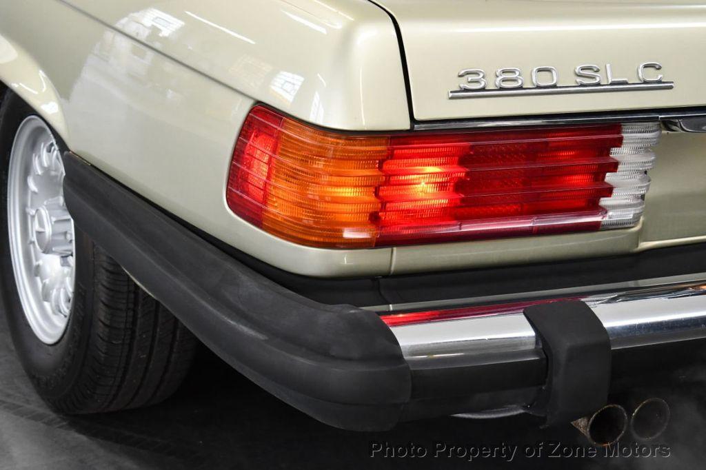 1981 Mercedes-Benz 380 380 SLC - 18130467 - 17
