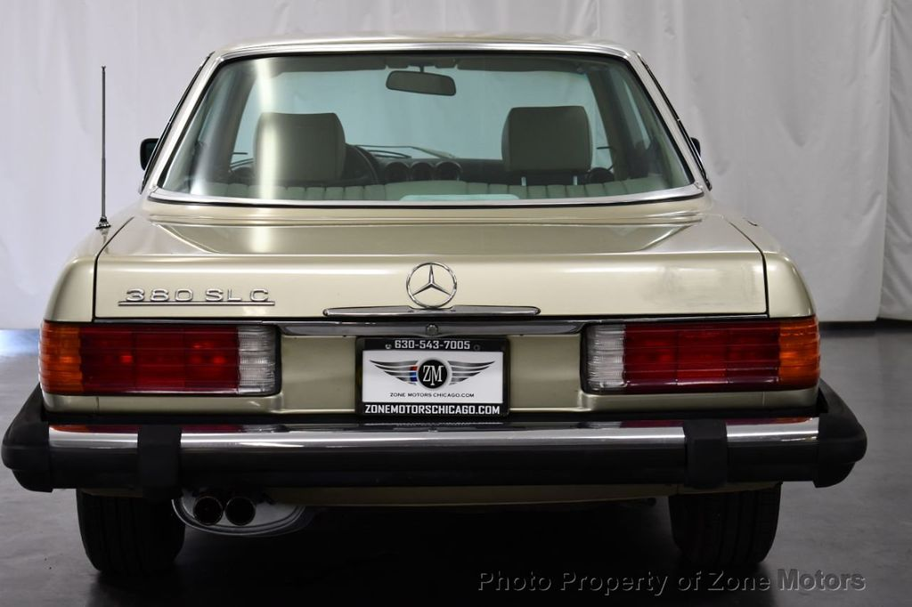 1981 Mercedes-Benz 380 380 SLC - 18130467 - 6
