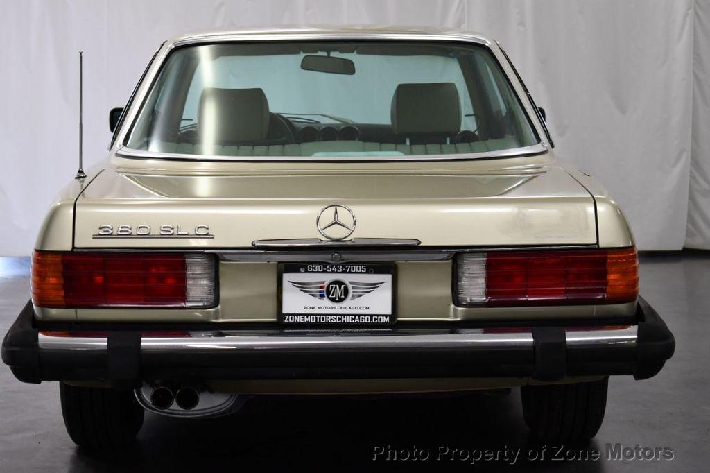 1981 Mercedes-Benz 380 380 SLC - 18130467 - 6