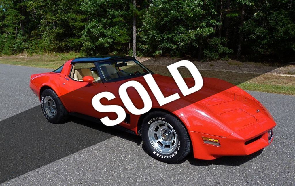 1982 Chevrolet Corvette For Sale Coupe - 1G1AY8784C5105308 - 0