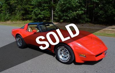1982 Chevrolet Corvette For Sale Coupe