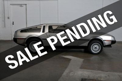 1982 Delorean DMC-12 DMC-12 Coupe