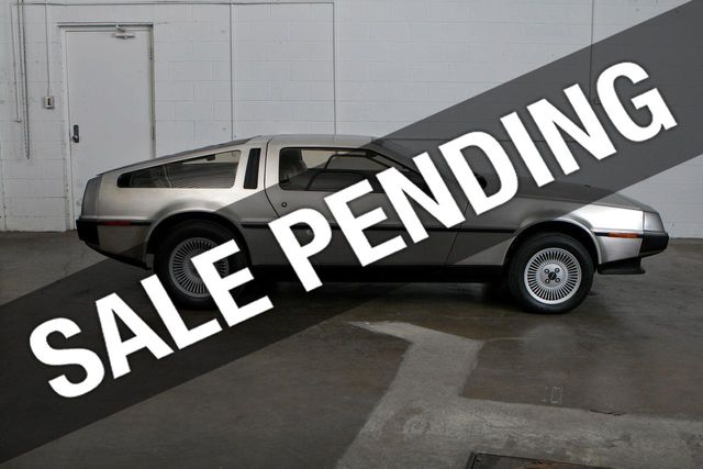 1982 Delorean DMC-12 DMC-12