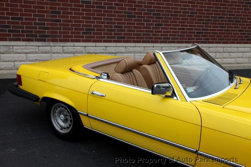 1982 Mercedes-Benz 380 SL - Click to see full-size photo viewer