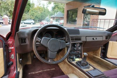 1982 Porsche 924 Base Trim - Click to see full-size photo viewer