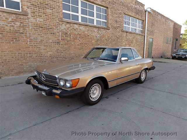 1983 Mercedes-Benz 380SL  - Click to see full-size photo viewer