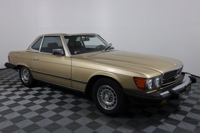 1984 Mercedes-Benz 380 SL Not Specified - WDBBA45A1EA011250 - 1