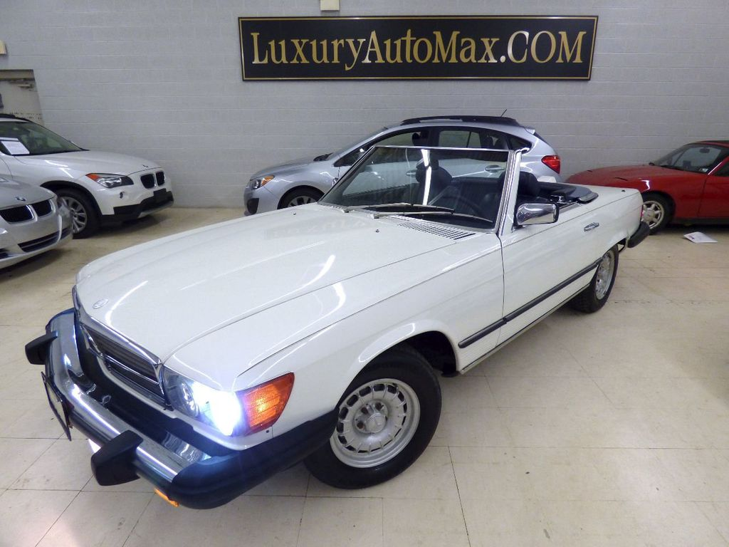 1984 Mercedes-Benz 380 SL Not Specified - WDBBA45A1EA011796 - 0