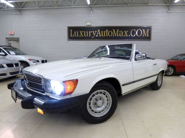 1984 Mercedes-Benz 380 SL - Click to see full-size photo viewer