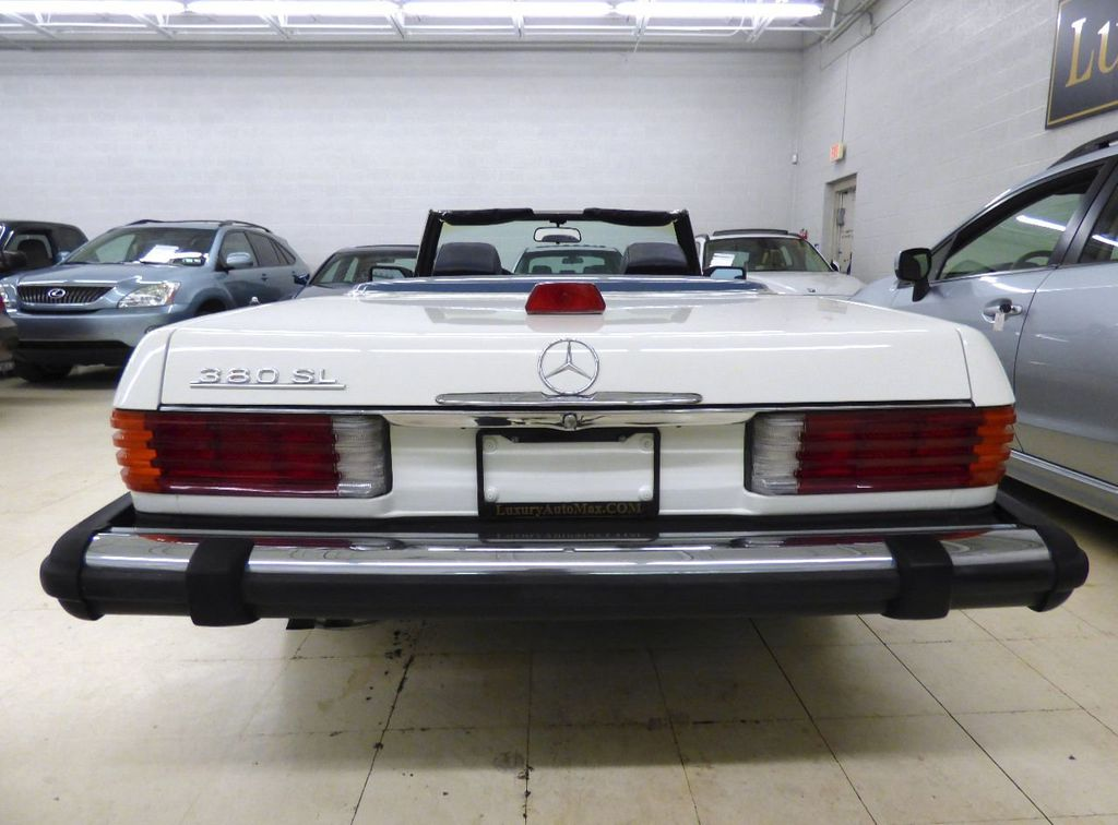 1984 Mercedes-Benz 380 SL Not Specified - WDBBA45A1EA011796 - 47