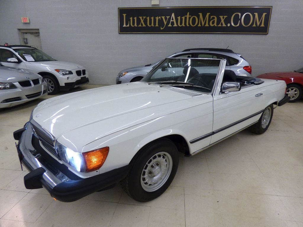 1984 Mercedes-Benz 380 SL Not Specified - WDBBA45A1EA011796 - 55