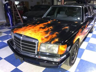 1984 Mercedes-Benz 500 500 SEL 4dr Sedan - Click to see full-size photo viewer