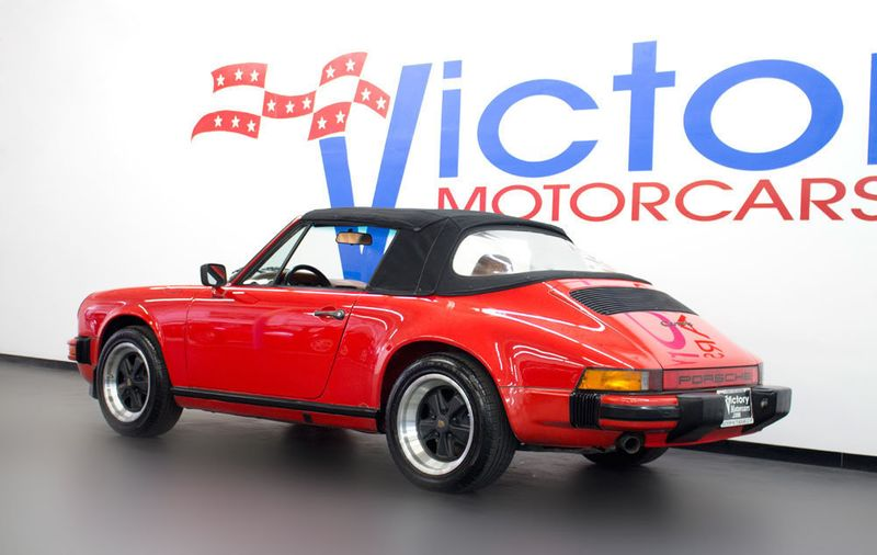 1984 Porsche 911 CARRERA CONVERTIBLE - 19206700 - 3