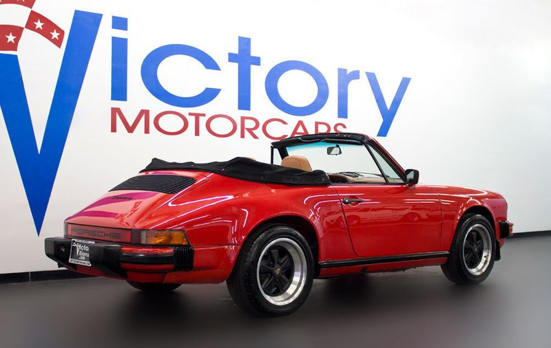 1984 Porsche 911 CARRERA CONVERTIBLE - 19206700 - 7