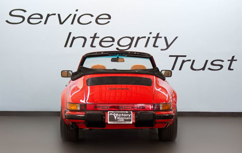 1984 Porsche 911 CARRERA CONVERTIBLE - 19206700 - 8