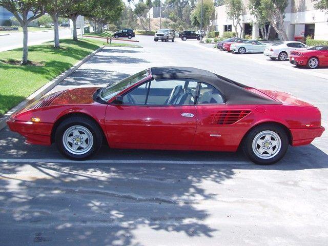 1985 Used Ferrari Mondial Cabriolet At Sports Car Company Inc Serving La Jolla Ca Iid 3250398