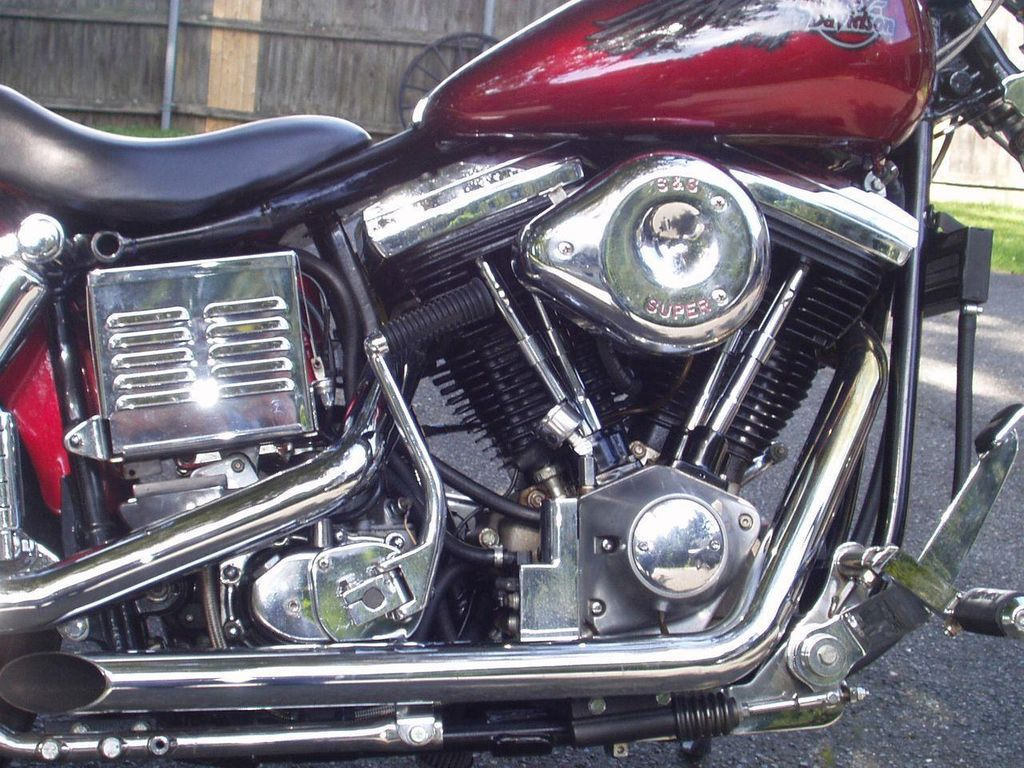 1985 Used Harley Davidson Wide Glide FXWG at WeBe Autos Serving Long  Island, NY, IID 10930406