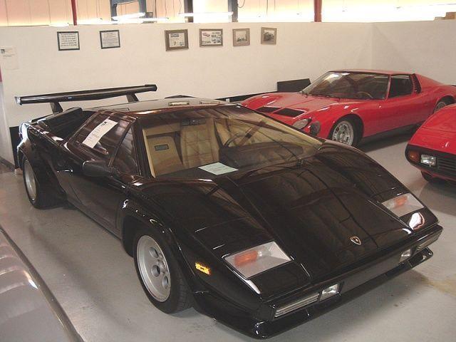 1985 Used Lamborghini Countach 5000 S At Sports Car Company Inc
