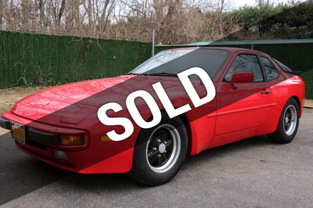 1985 Used Porsche 944 At Webe Autos Serving Long Island