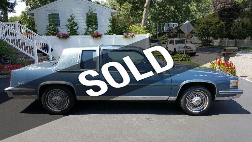 1986 Cadillac DeVille For Sale - 15380089 - 0