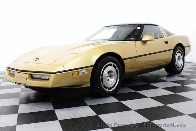 1986 Used Chevrolet Corvette Manual Transmission Z51 Coupe At