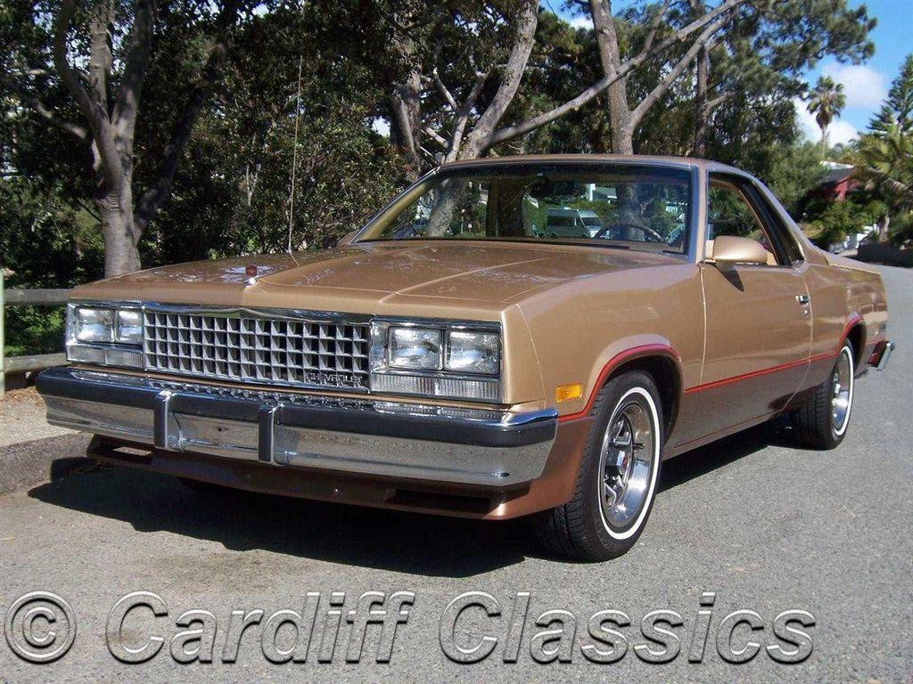 1986 Used Chevrolet El Camino Ss Sport 5 0 At Cardiff Classics