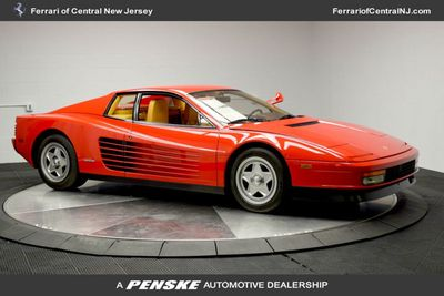 1986 Ferrari Testarossa Flying mirror limtied production Coupe