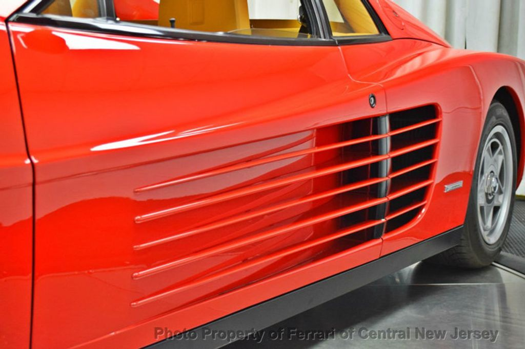 1986 Ferrari Testarossa Flying mirror limtied production - 17406362 - 15