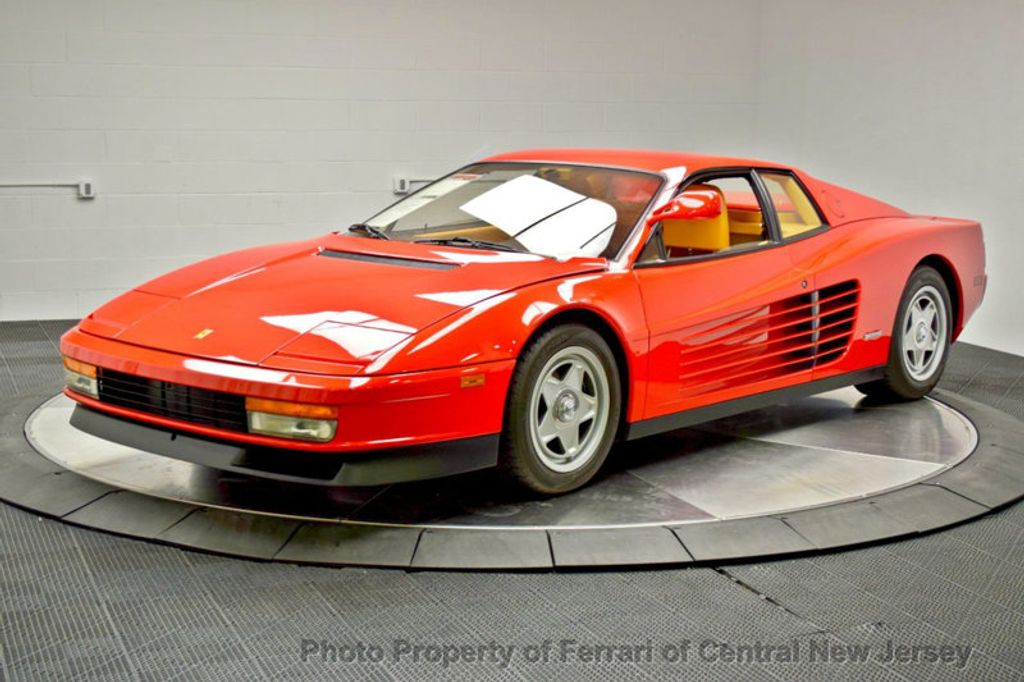 1986 Ferrari Testarossa Flying mirror limtied production - 17406362 - 3