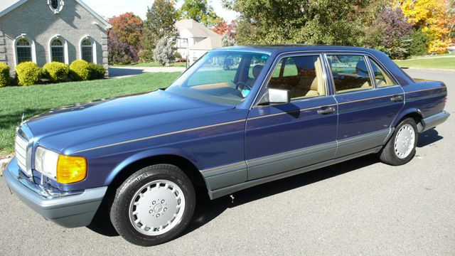 1986 Mercedes-Benz 560 SEL Sedan for Sale Ramsey, NJ