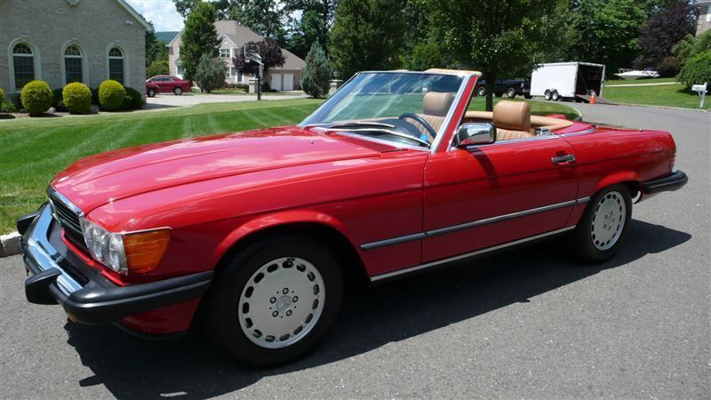 1986 Mercedes-Benz 560 SL - 8882840 - 1