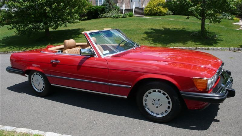 1986 Mercedes-Benz 560 SL - 8882840 - 3