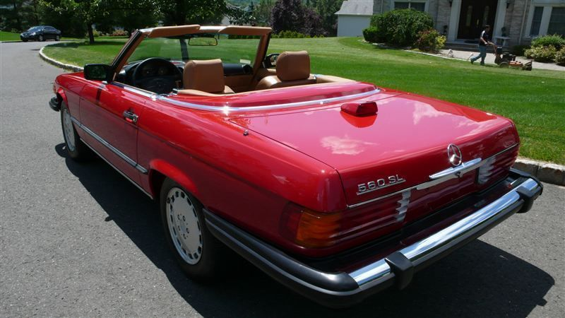 1986 Mercedes-Benz 560 SL - 8882840 - 45