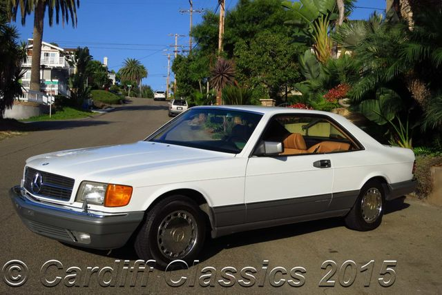 1986 used mercedes benz 560sec sec at cardiff classics for Mercedes benz san diego county