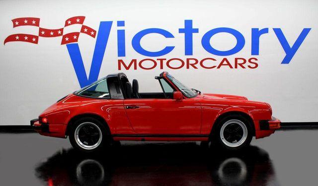 1986 Used Porsche 911 Carrera Targa At Victory Motorcars Serving Houston Tx Iid 12334131
