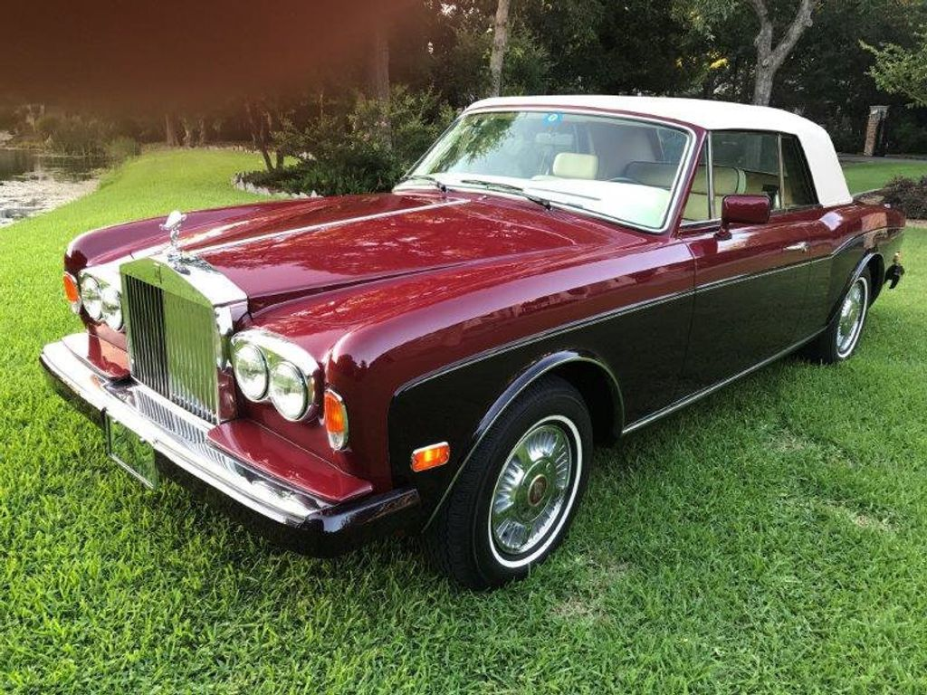 1986 Rolls-Royce Corniche Base Trim - 12729719 - 1