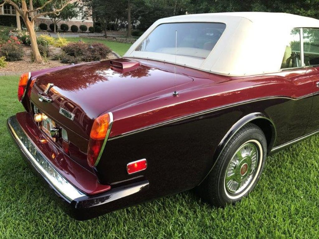 1986 Rolls-Royce Corniche Base Trim - 12729719 - 25