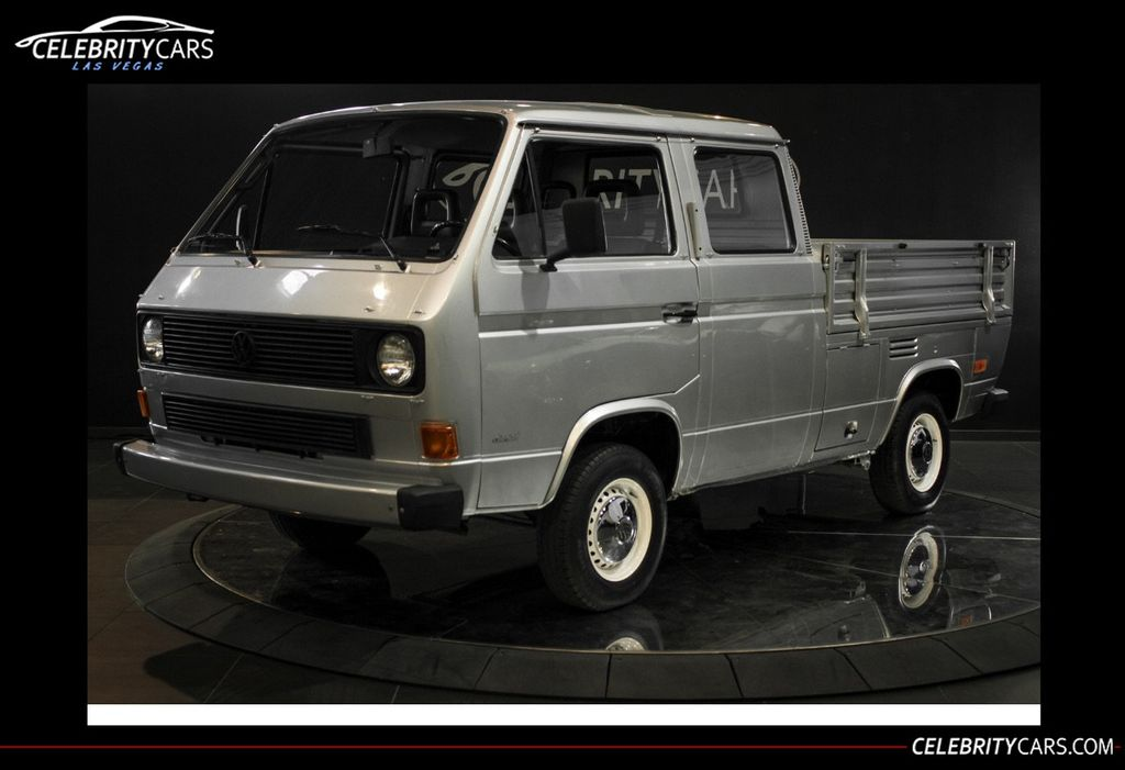 1986 Volkswagen Transporter Doka Truck - 18611450 - 0