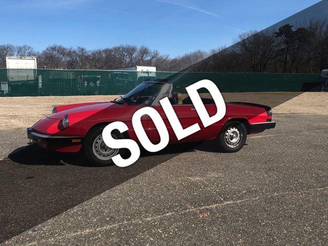 1987 Alfa Romeo Spider Graduate 2dr Convertible 18654939 0