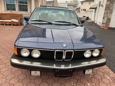 1987 BMW 7 Series  Coupe