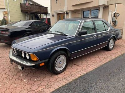 1987 BMW 7 Series  - Click to see full-size photo viewer
