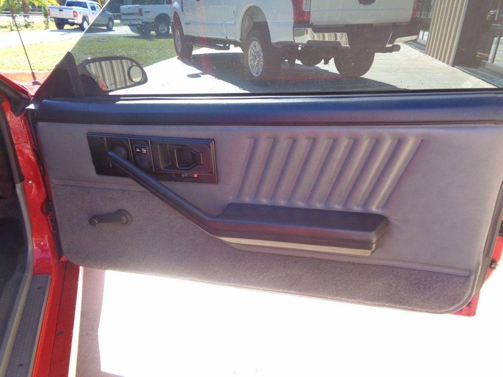 1987 Chevrolet Camaro Z28 IROC Coupe   - 16583052 - 35