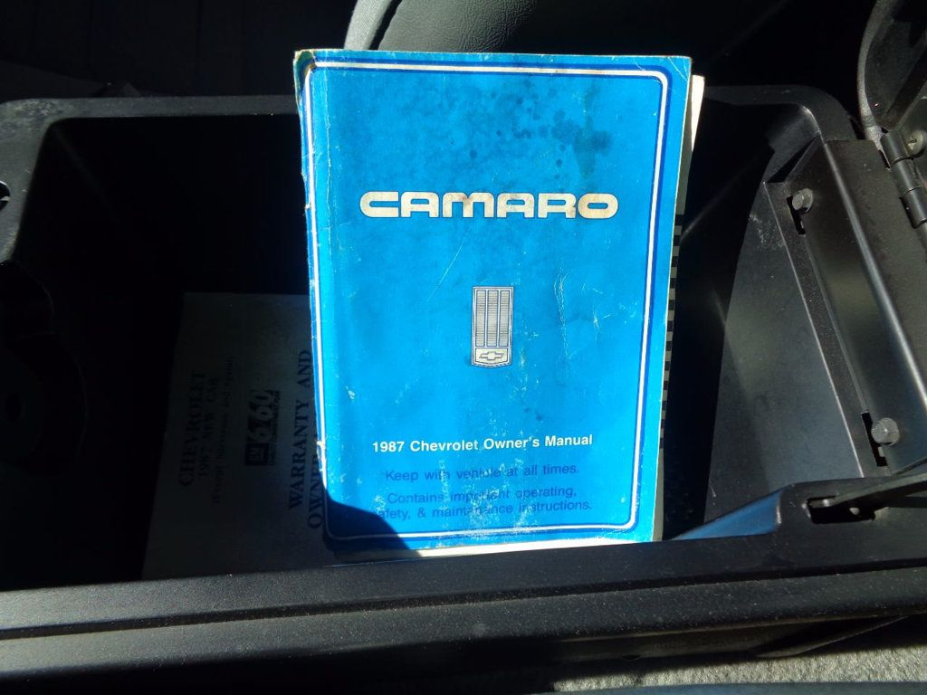 1987 Chevrolet Camaro Z28 IROC Coupe   - 16583052 - 40