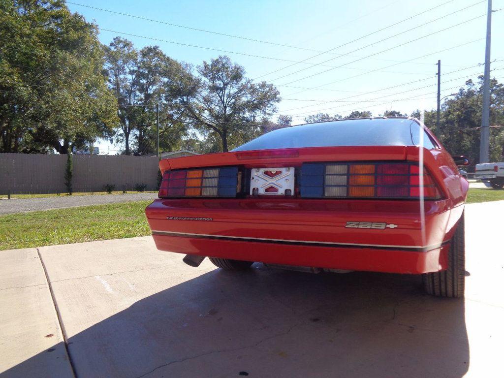1987 Chevrolet Camaro Z28 IROC Coupe   - 16583052 - 5
