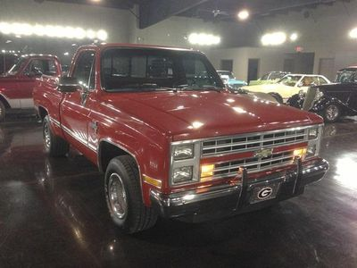 1987 Chevrolet R-10 Silverado 1500 SOLD - Click to see full-size photo viewer